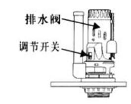 座便器排水阀的调节